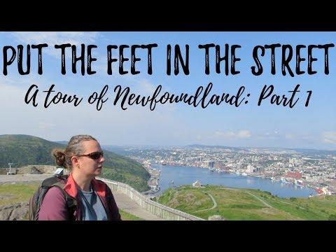Let's Put The Feet In The Street! Tour of Newfoundland: Part 1   #9   DrakeParagon Sailing Season 4