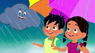 Pani Barsa Cham Cham | Balgeet | पानी बरसा छम छम छम | Kids Rhymes | Cartoon Videos for Children