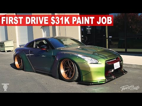 FIRST DRIVE: LIBERTY WALK GTR $31K PAINT JOB