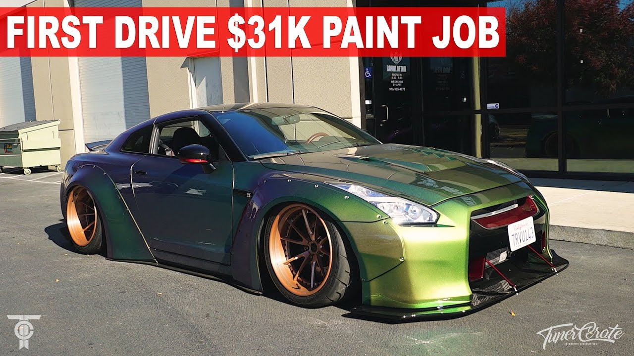FIRST DRIVE: LIBERTY WALK GTR $31K PAINT JOB - YouTube