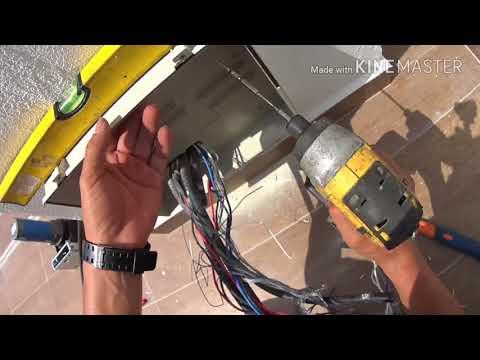 Installation auto gate system casa asia 350 step 3 by sun autogate