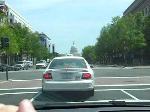 Washington DC: Percorrendo a Pennsylvania Avenue de carro