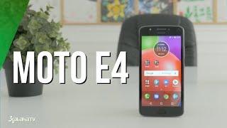 Motorola Moto E4, análisis. Review en español