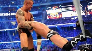 CM Punk vs Randy Orton - WWE Wrestlemania 27 Highlights [HD]