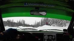 TS-Konehuolto Rallisprint 3.2.2019 Taunus Rally Team incar