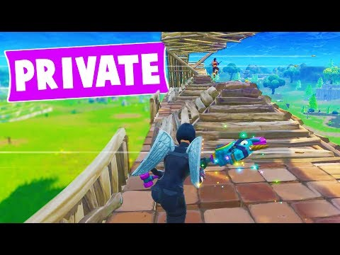 WE GOT A PRIVATE FORTNITE SERVER... and did this with it