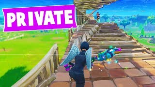THE BEST CUSTOM FORTNITE GAME TO PLAY (Private Server)