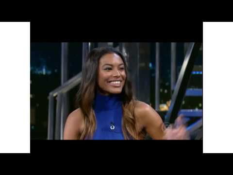 Modelo angolana Sharam Diniz conta um pouco de sua vida no programa