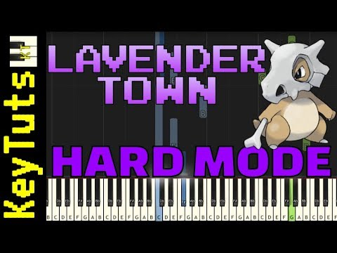 Download Learn to Play Lavender Town from Pokemon - Hard Mode