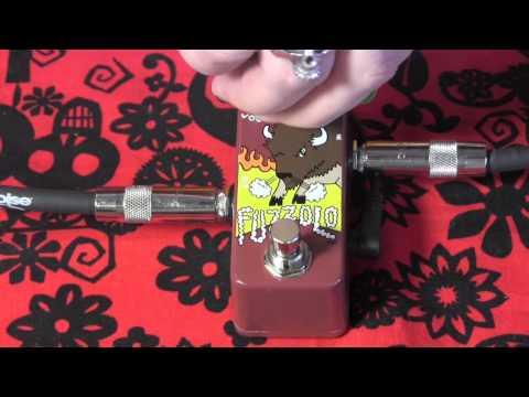 Zvex Fuzzolo mini fuzz pedal demo with R9 Les Paul
