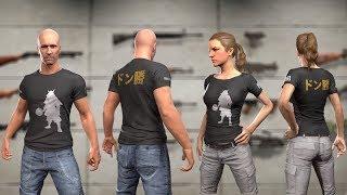 [SEM ESTOQUE] Como conseguir a Camiseta (T-shirt) da DMM no PUBG (Playerunknown's Battlegrounds)