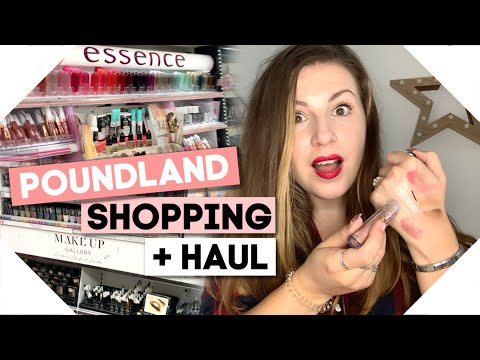 POUNDLAND MAKEUP Haul + Wilko/Essence Shop With Me