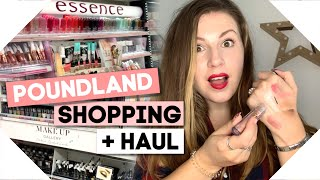 POUNDLAND MAKEUP Haul + Wilko/Essence Shop With Me