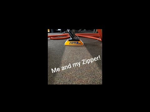 Me and my Zipper! How to clean and protect carpet in an elder care facility this week