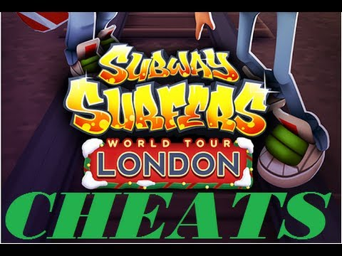 Subway Surfers London Cheats New Update Keys And Money Root