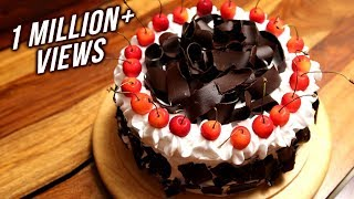 Black Forest Cake Recipe | Homemade Eggless Cake Recipe | Divine Taste With Anushruti