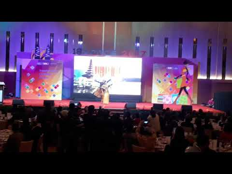 18 Countries Dance (18th Asia-Pacific Retailers Convention & Exhibition)