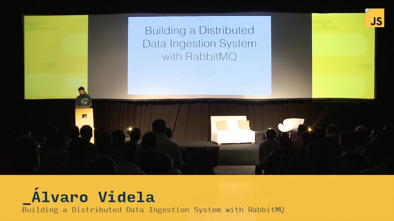 Alvaro Videla: Building a Distributed Data Ingestion System with RabbitMQ |  JSConf ar 2014