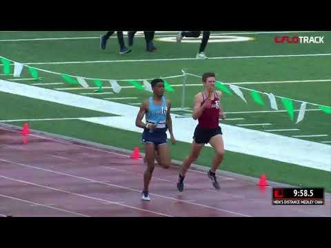 Columbia Freshman Unleashes Kick To Win DMR