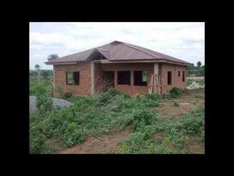 Low cost construction in nigeria youtube for Low cost home construction