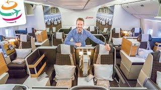 Nochmal SWISS Business Class auf Langstrecke in der 777 | GlobalTraveler.TV