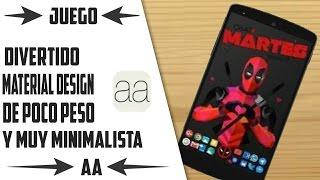 Juego de la semana | AA | Material Design | 2016