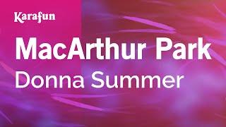 Karaoke MacArthur Park - Donna Summer *