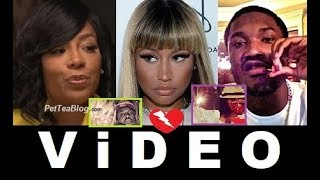K Michelle Forgives Meek Mill  Not Nicki Minaj for Stealing Song & Chain Taken Attempt ☕???? ViD