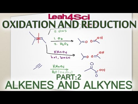 Alkenes & Alkynes Oxidation Reduction and Oxidative Cleavage thumbnail