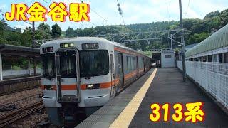 JR金谷駅に発着するJR東海313系