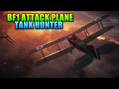 Battlefield 1 Attack Plane Tank Hunter Guide / Tutorial