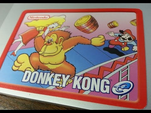 Classic Game Room - DONKEY KONG review for Nintendo e-Reader