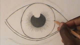 Step-through-Step: Drawing A Realistic Eye (for beginners)