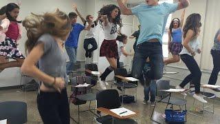 """Coreografia de """"Vamos, bailemos ya"""" Tutorial por Giselle y GM5 Generaciones"""