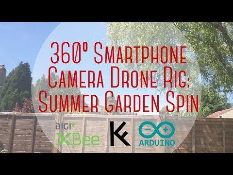 360º Smartphone Camera Drone Rig: Summer Garden Spin | KFERNANDESIGN