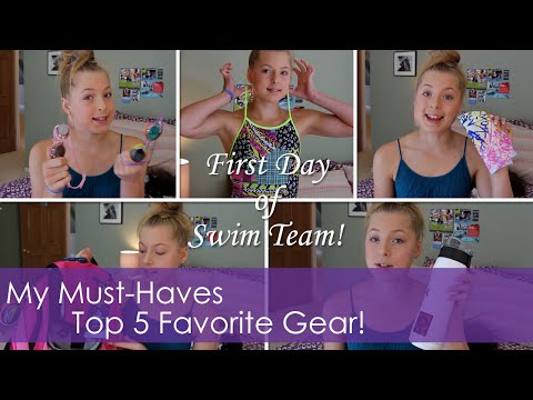 My Top 5 Must-Have Gear For Your First Day Of Swim Team!