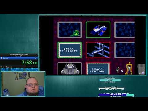 Speedrun - Scholastic's Magic School Bus (Any)(Easy)(1:22:09)