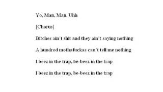 Nicki Minaj - Beez In The Trap ft. 2 Chainz LYRICS