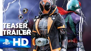 Kamen Rider: Battride War Genesis - Teaser Trailer - PS4, PS3, PS Vita [JP]