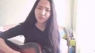 Суйемин сени жаным (красивое исполнение от милой девушки)