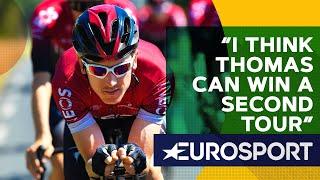 Wiggins On Geraint Thomas' Chances Of Winning Another Tour   The Bradley Wiggins Show   Eurosport