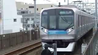 [警笛あり]東京メトロ東西線 05系第32編成 通勤快速 行徳駅通過