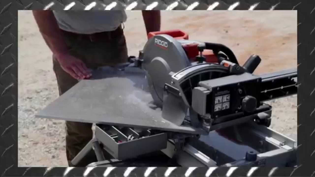 Ridgid 10 Tile Saw The Beast The Home Depot Youtube