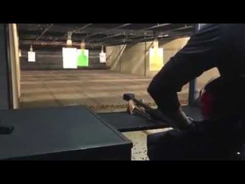 Me shooting a  BMG 50. Cal sniper rifle