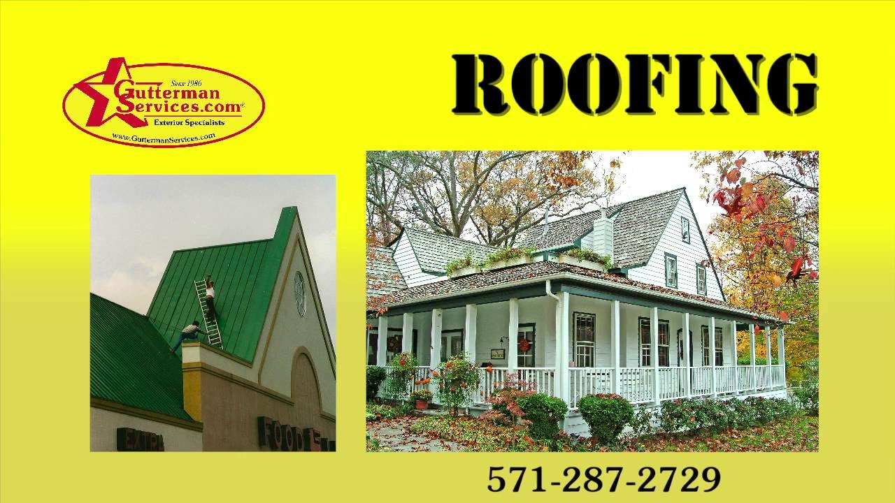New Roofing   Gutterman Service, Northern Virginia