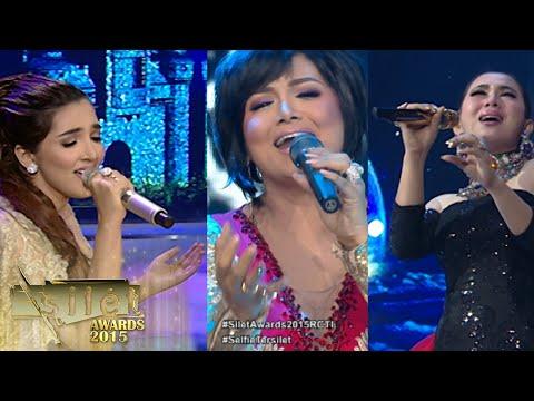 Krisdayanti, Syahrini, Ashanty 'Cinta, Cinta Sendirian, Jodohku' [Silet Awards 13th] [26 Okt 2015]
