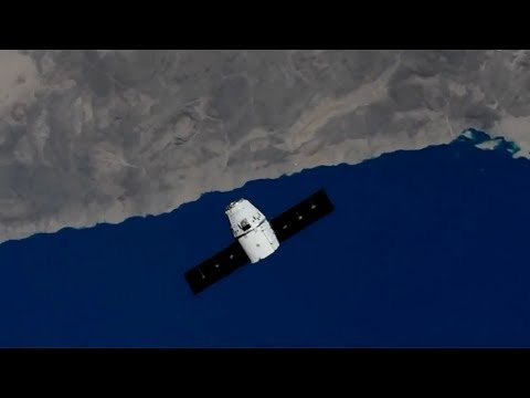 SpaceX CRS-11: Dragon capture, 5 June 2017