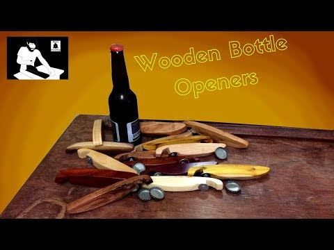How To Make Wooden Bottle Openers With Scraps