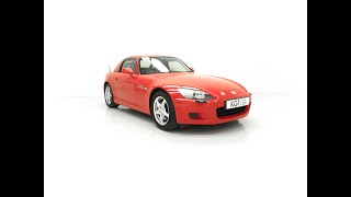 A Cossetted Honda S2000 GT AP1 with Just 37,021 Miles and Incredible History - £19,995