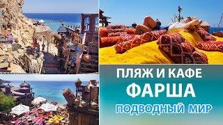 ПЛЯЖ И КАФЕ ФАРША Лучшие пляжи Шарм эль Шейха с песчаным заходом в море Farsha Cafe